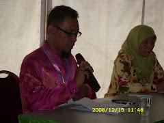 Moderator Seminar Halal Nasional - Selangor - Pn Azizah KFC