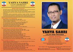 Profil Yahya Sahri Naib Presiden No 16