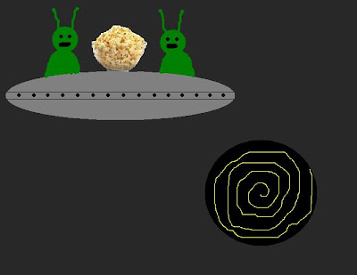 Aliens watching the LHC
