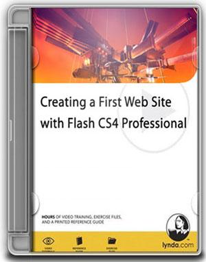 Lynda.com - Creating a First Web Site with Flash CS4 Professional (1 cd)