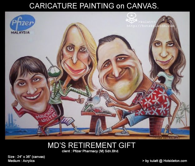 pfizer Md's family-Retirement gift