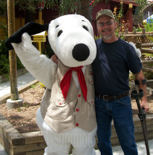 Snoopy and Jimmy