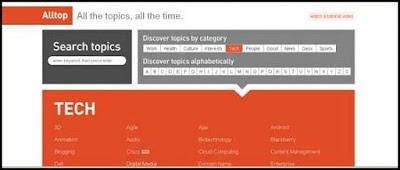 Alltop.com Website Screenshot