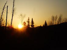 Sunrise from my cabin