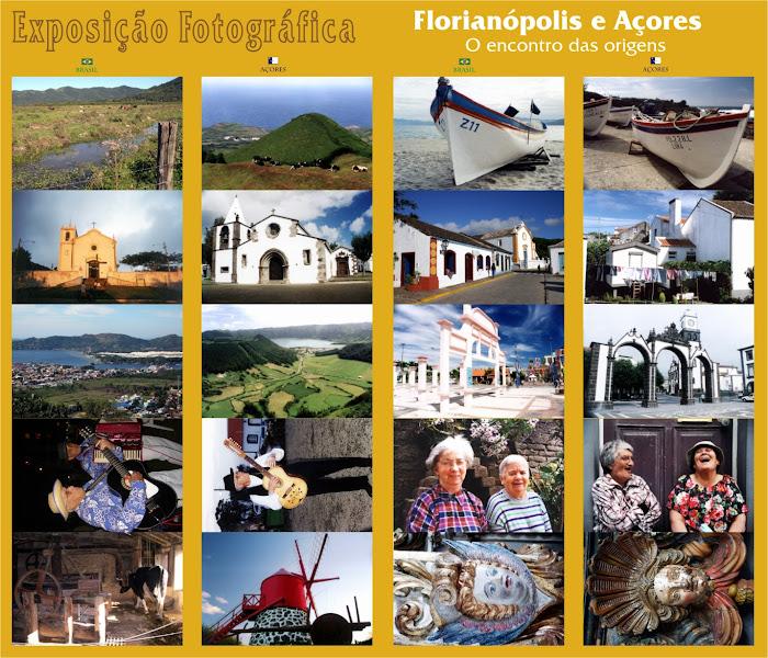 Exposição fotográfica Florianópolis e Açores. Ela pode estar no seu evento, ligue para o autor.