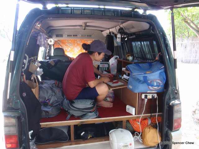Bug Out Van Interior : Bug out vehicle delica l our