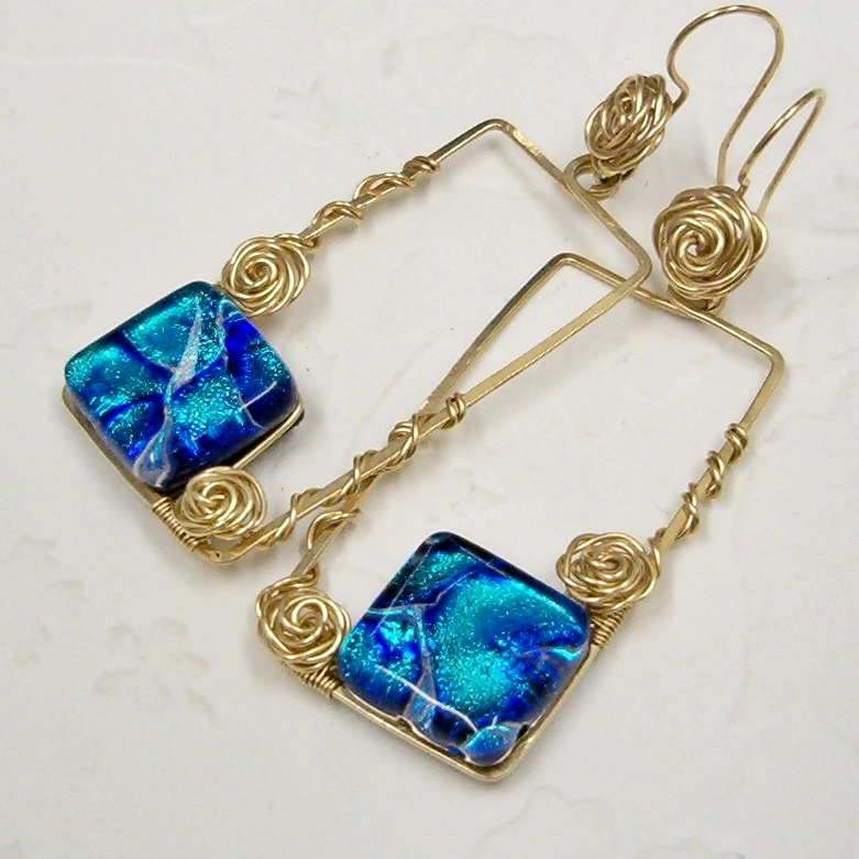Wire Jewelry Friends Sharing Their Works - Wire Wrap Roses ~ WireBliss