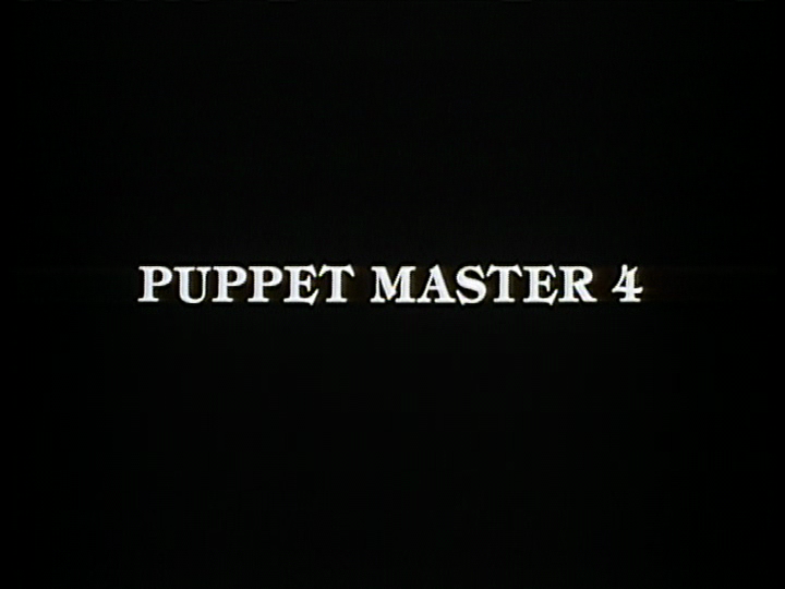 Mondo Bizarro Pull The Strings Puppet Master Iv The Demon