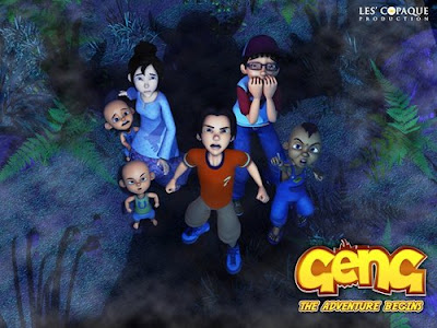 GAMBAR) Watak - Watak Animasi Paling Popular Upin dan Upin