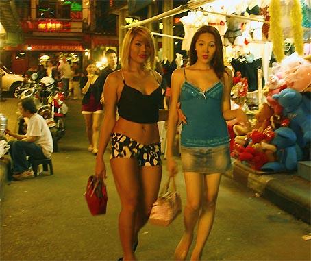 Bangkok Thailand Nightlife Girls