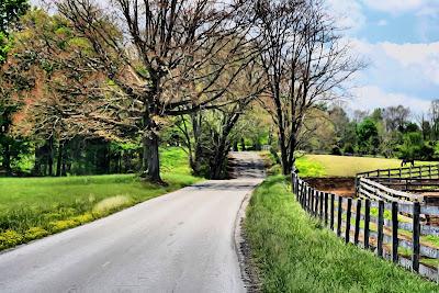 roads scenery