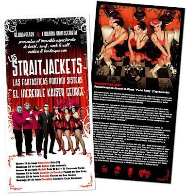 Flyer del concierto