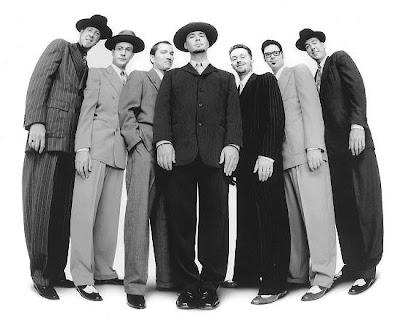 Big Bad Voodoo Daddy, elegantes como los gangster de los años 30