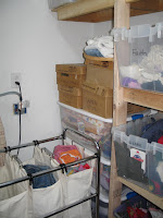 laundry sorting and storage