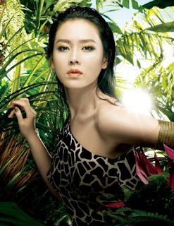 son ye jin LG African Dream