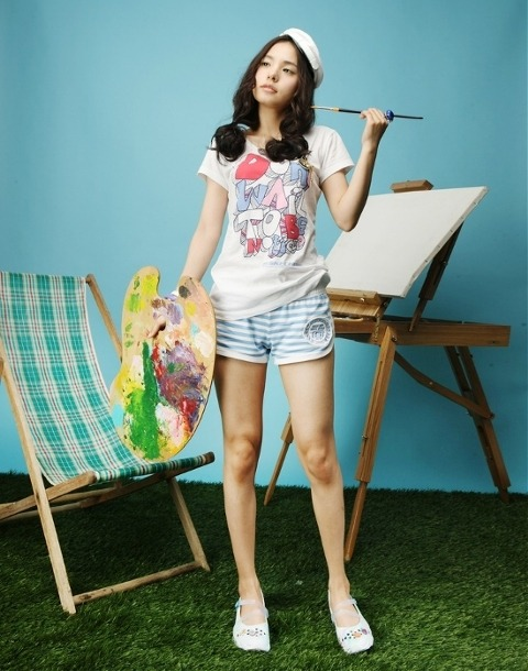 minhyorin skechers2 Latest Korean Girl haircuts