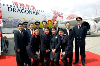 dragon air stewardess
