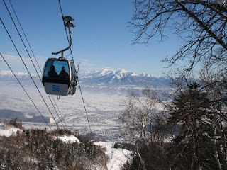 cable car to furano ski resort