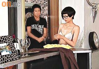 fala chen show off bra