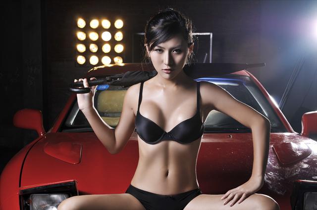 china model lin yi xue