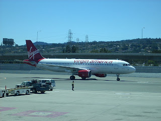 virgin america airlines aircraft