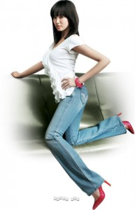 song hye kyo levi's lady style jeans