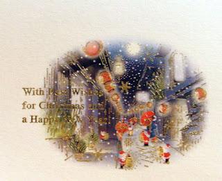 japan christmas cards