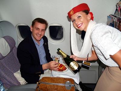 emirates airlines stewardess