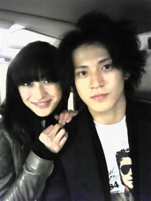 Yu Kashii and Joe Odagiri