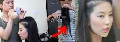Crystal Liu Hair Loss