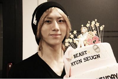 Jang Hyun Seung Beast Birthday