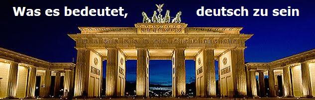 Was es bedeutet, deutsch zu sein