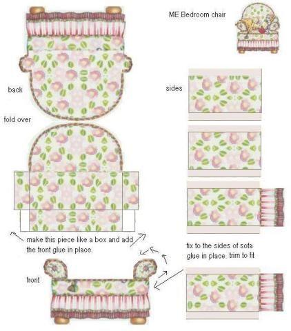 Muebles para armar de papel para maquetas imagui - Muebles de papel ...