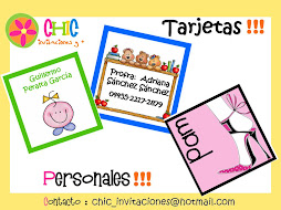 Tarjetas Personales