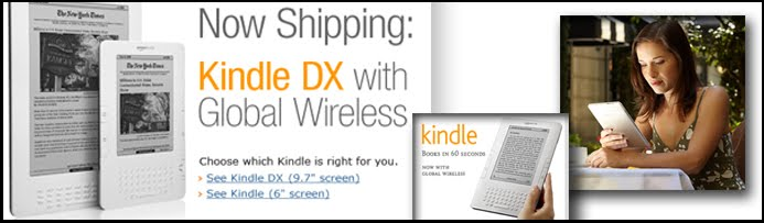 Portable Ebook Reader - Amazon Kindle