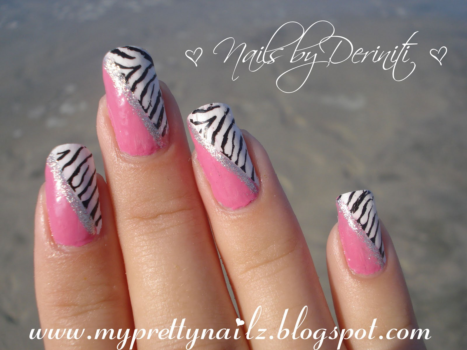Zebra Print Nail Designs 2015 - 2015 Best Nails Design Ideas