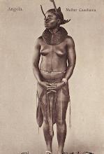 Mulher Cuanhama - sul de Angola