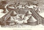 Postal: Habitação de uma família do Humbe (Mossãmedes)
