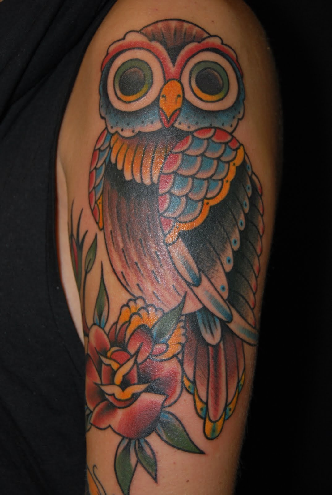 40 creative owl tattoos for tattoo lovers