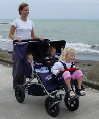 Type of buggy can affect baby development, study finds