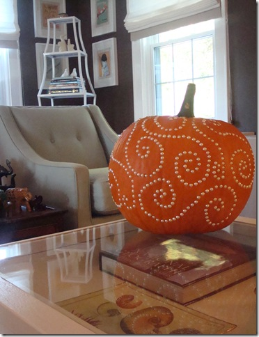 SPINOFF: Carved/drilled pumpkins — thenest