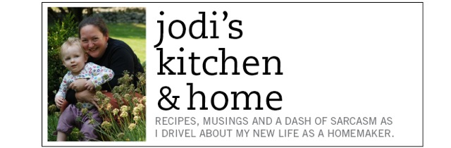 jodi's kitchen and home