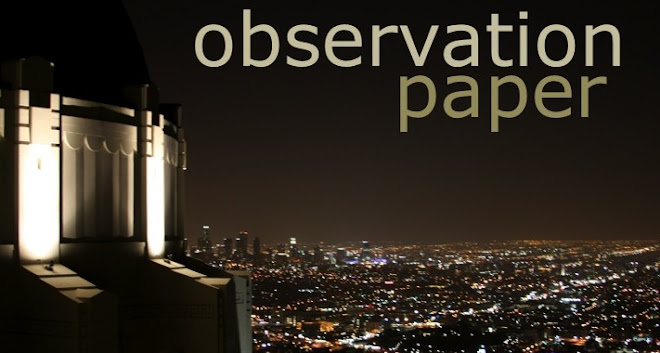 Observation Paper