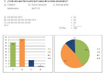 2-¿Cual cree que fue la principal causa de la crisis economica?