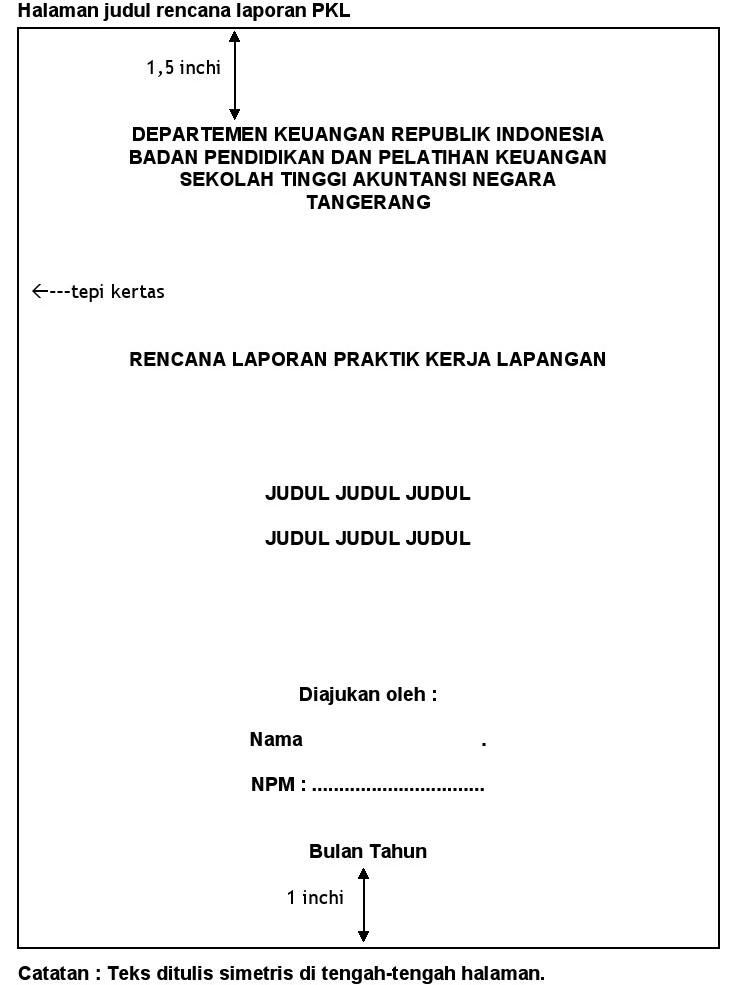 · 76 kB · jpeg, Cara Membuat Laporan Praktek Kerja Lapangan (PKL