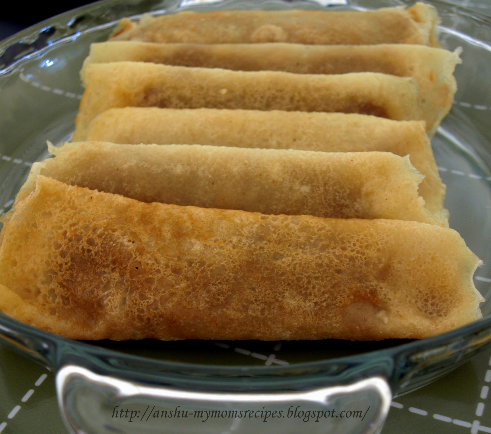 ... RECIPES: { BENGALI } PatiShapta (Crepes/Pancakes with Coconut Filling