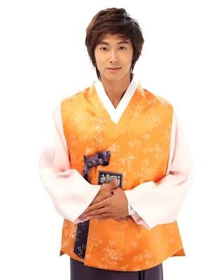 Yunho, dbsk, hanbok