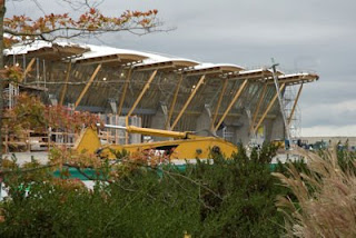 Richmond Oval Construction, Olympics 2010 Vancouver, Canada
