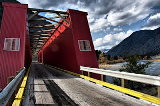 Red Bridge, Keremeos, British Columbia, top 10 destinations in British Columbia