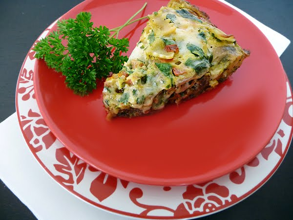 Three Cheese Italian Sausage Frittata | Good Life Eats